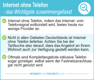 Preisvergleich Internet Telefon