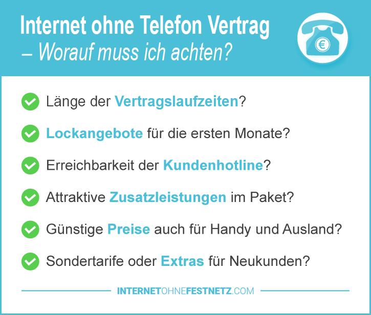 Internet ohne Telefonanschluss und Kabel