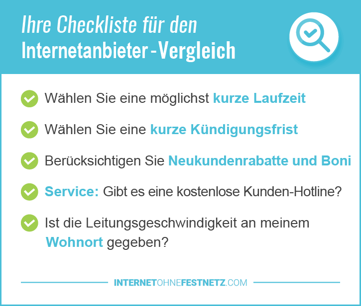 Internetanschluss ohne Telefon München