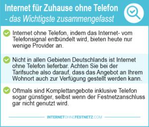 Preisvergleich Internet Flatrate Fur Zuhause Ohne Telefon