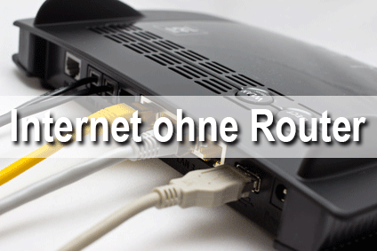 Internet ohne Router