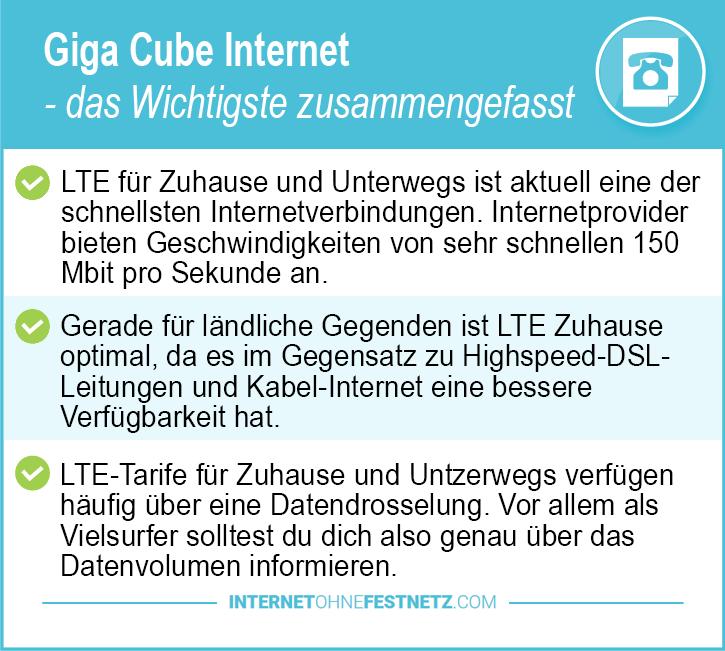 Gigacube Internet